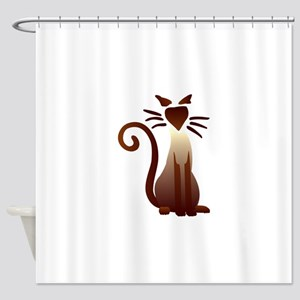 Sleek Sam Shower Curtain