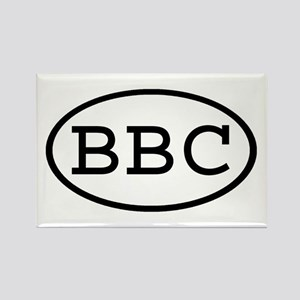 BBC Oval Rectangle Magnet