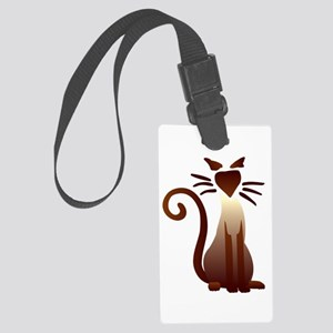 Sleek Sam Large Luggage Tag