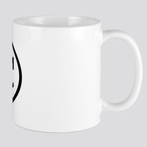 BBC Oval Mug