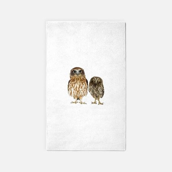 Owl Duo 3'x5' Area Rug