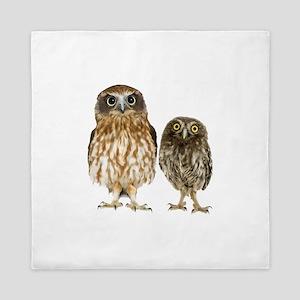 Owl Duo Queen Duvet