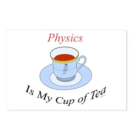 Physics is my cup of tea Postcards (Package of 8)