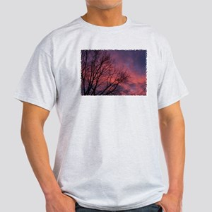 Skies on Fire Ash Grey T-Shirt