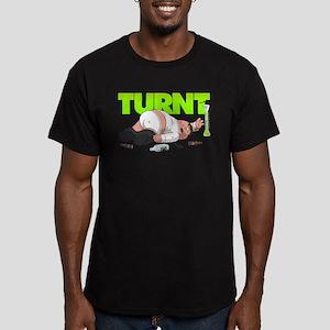 Family Guy Peter Turnt Men's Fitted T-Shirt (dark)