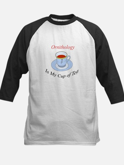 Ornithology is my cup of tea Kids Baseball Jersey