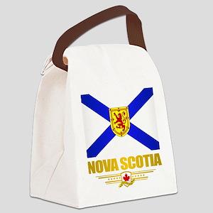 Nova Scotia Flag Canvas Lunch Bag