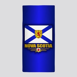 Nova Scotia Flag Beach Towel
