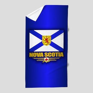 Nova Scotia Flag Beach Towel