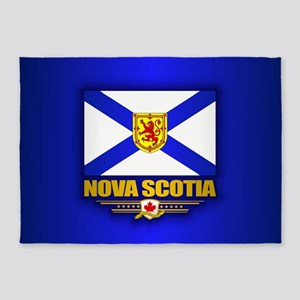 Nova Scotia Flag 5'x7'Area Rug