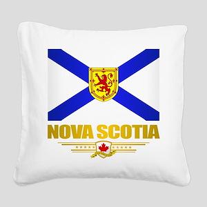 Nova Scotia Flag Square Canvas Pillow