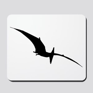 Pterodactyl Silhouette Mousepad