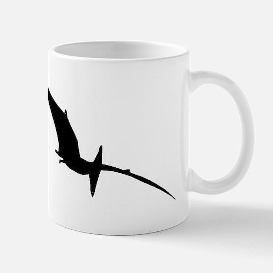 Pterodactyl Silhouette Mugs