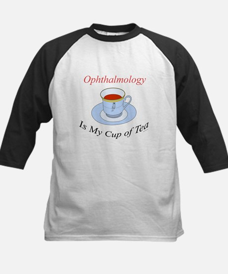 Ophthalmology is my cup of te Kids Baseball Jersey