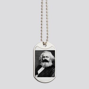 karl marx Dog Tags