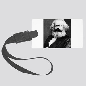 karl marx Luggage Tag