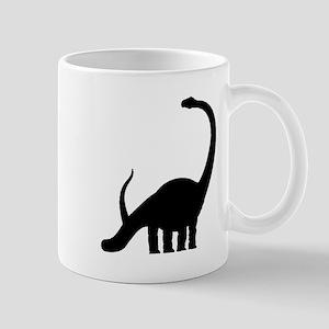 Brachiosaurus Silhouette Mugs
