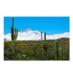 Four Peaks Snow From Postcards (package Of 8)
