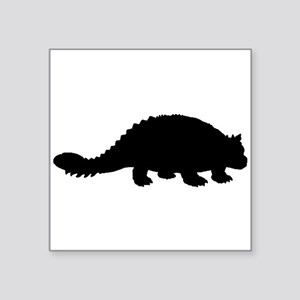 Ankylosaurus Silhouette Sticker