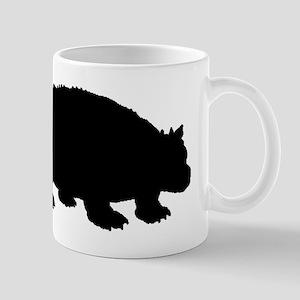 Ankylosaurus Silhouette Mugs