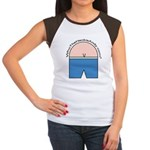 Who The Heck is Andy Logo Women's Cap Sleeve T-Shi