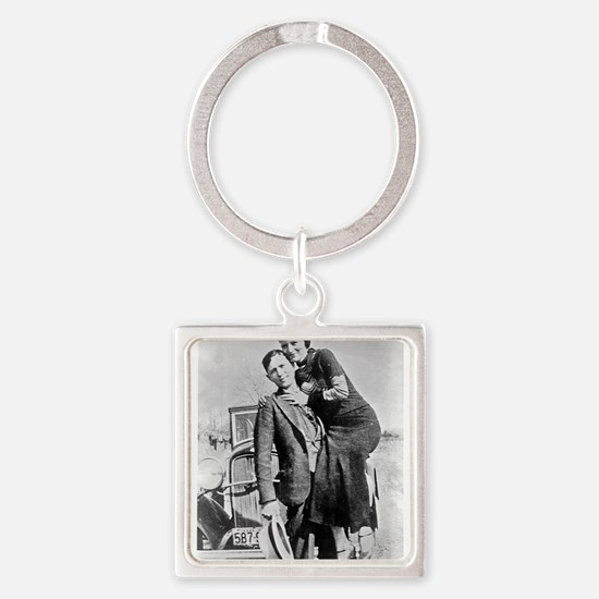 bonnie and clyde Keychains