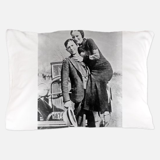 bonnie and clyde Pillow Case