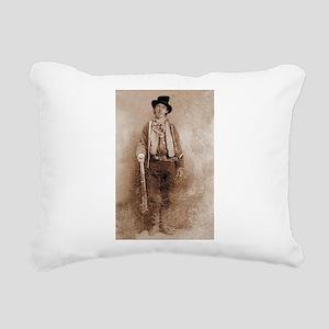 billy the kid Rectangular Canvas Pillow