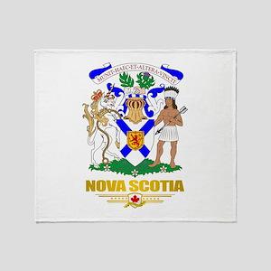 Nova Scotia COA Throw Blanket