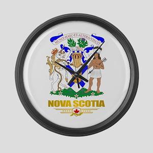 Nova Scotia COA Large Wall Clock