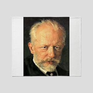 tchaikovsky Throw Blanket