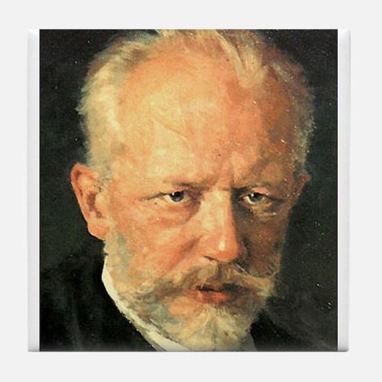 tchaikovsky Tile Coaster