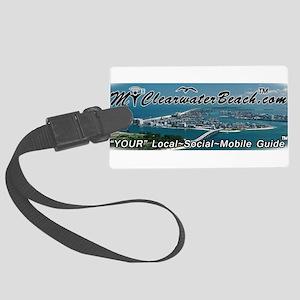 MyClearwaterBeach Master Aerial Luggage Tag