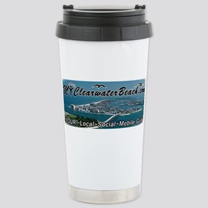 MyClearwaterBeach Master Aerial Travel Mug