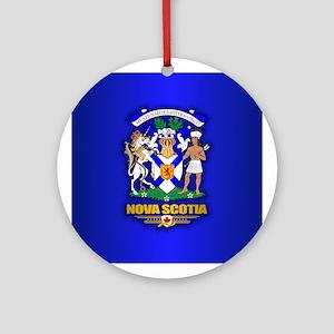 Nova Scotia COA Ornament (Round)