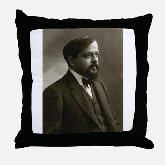 claude debussy Throw Pillow