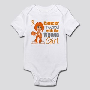 Leukemia Messed With Wrong Girl Infant Bodysuit