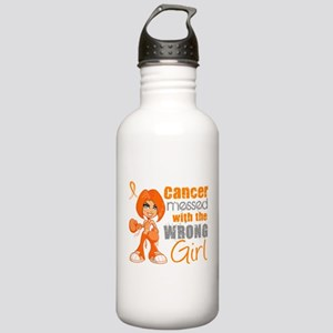Leukemia Messed With W Stainless Water Bottle 1.0L