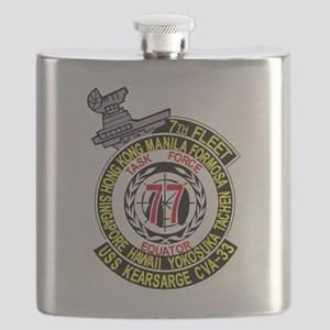 CVA-14 USS TICONDEROGA Multi-Purpose Attack Flask