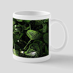 Lilypad Woodcut Mugs