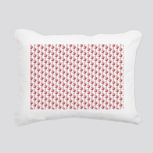 One stroke fox pattern Rectangular Canvas Pillow