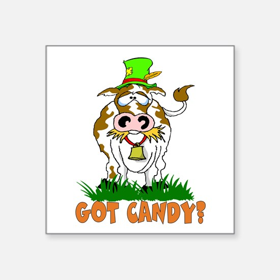 Candy Cow Sticker