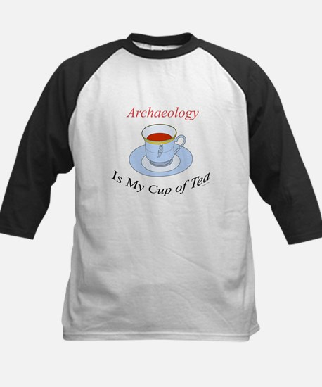Archaeology is my cup of tea Kids Baseball Jersey