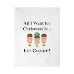 Christmas Ice Cream Twin Duvet