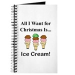 Christmas Ice Cream Journal
