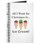 Christmas Ice Cream Journal