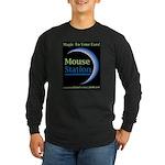 MouseStation logo Long Sleeve Dark T-Shirt