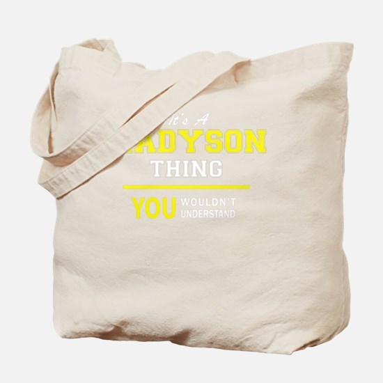Cute Madyson Tote Bag
