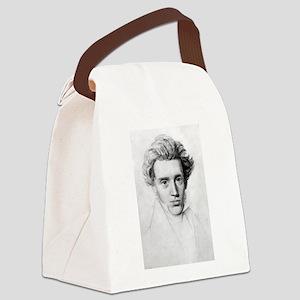 soren kierkegaard Canvas Lunch Bag