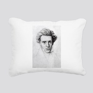 soren kierkegaard Rectangular Canvas Pillow